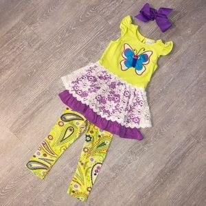 3T Emily Rose Boutique Outfit w. Bow